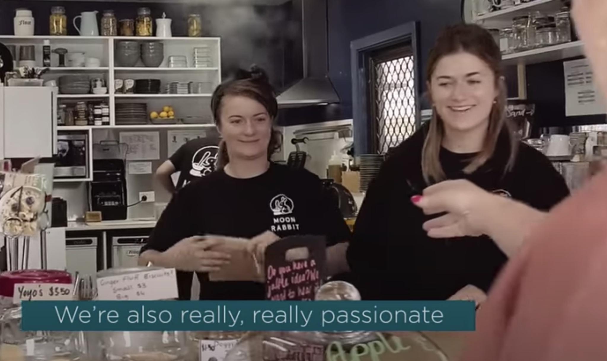 Moon Rabbit Social Enterprise Cafe in Action